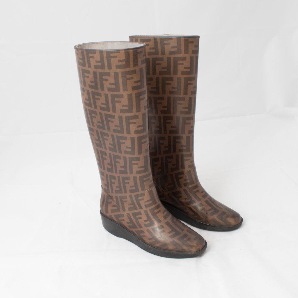 Fendi Rain Boots