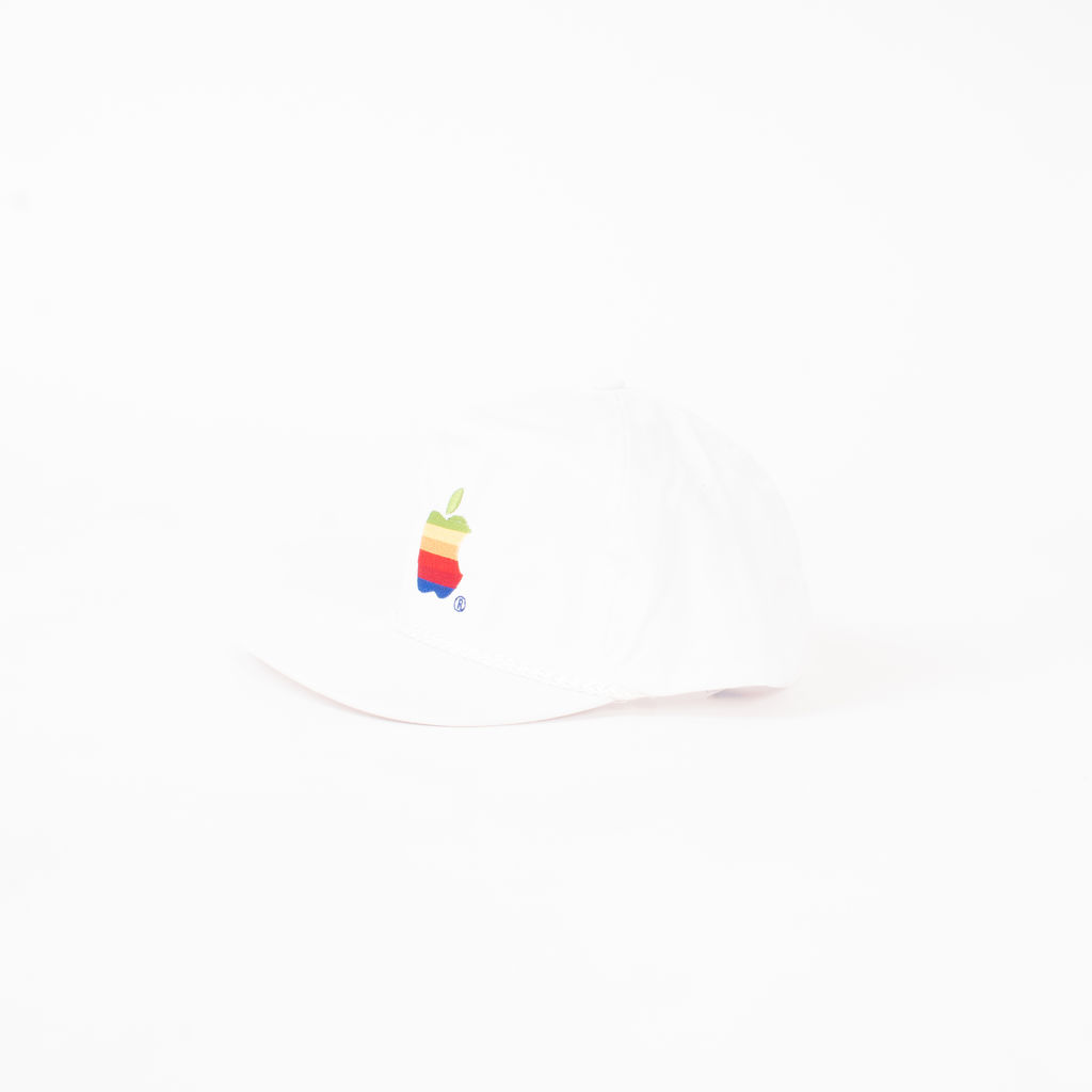 Apple Logo Embroidered Hat  curated by Christion Lennon