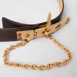 Donna Karan Brass Latch Belt curated by Sophia Amoruso