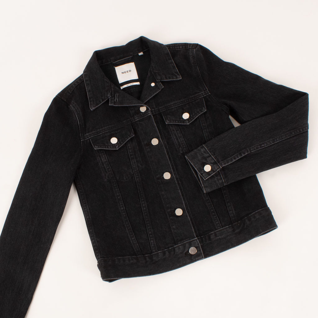 Need by Need Supply Black Denim Jacket