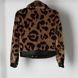 Coach 1941 Wild Beast Faux Fur Jacket  curated by Sami Miro