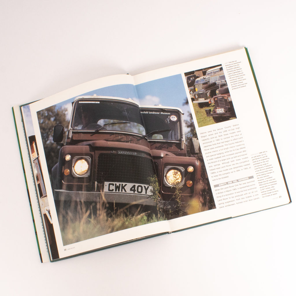 Land Rover Coffee Table Book