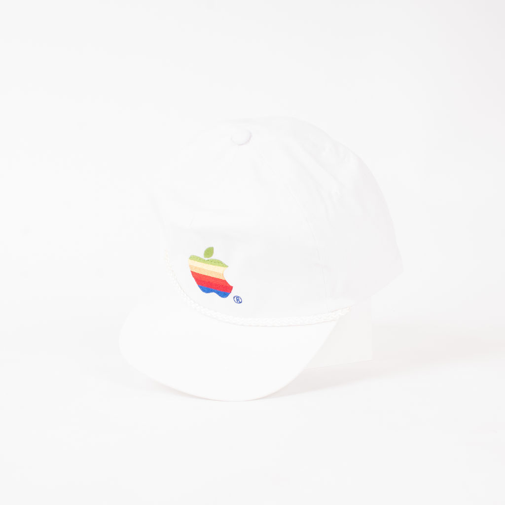 Apple Logo Embroidered Hat