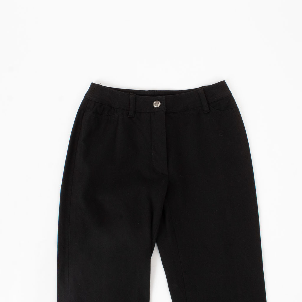 Chanel Ankle Tie Detail Pants