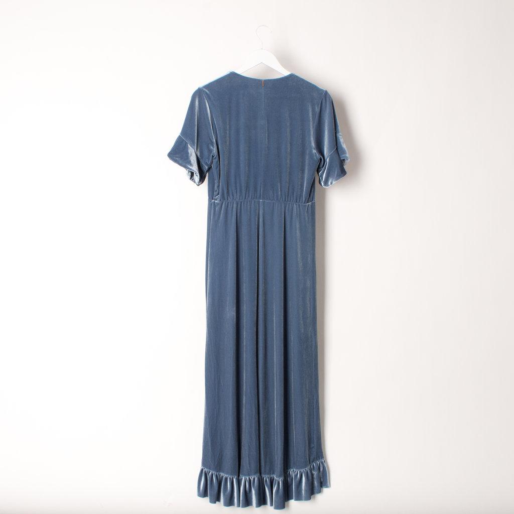 Misa Velvet Dress