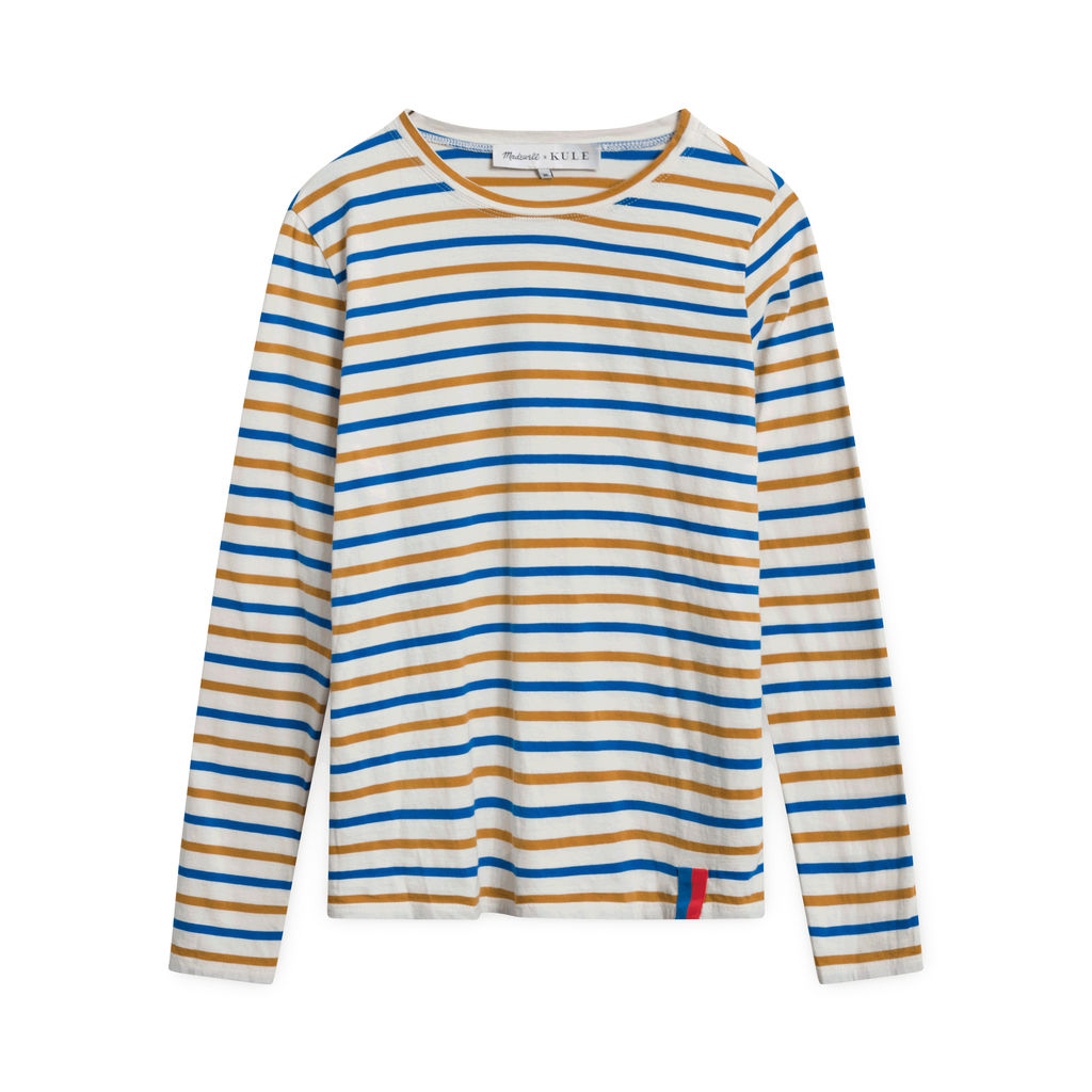 Madewell x Kule Striped Modern Long-Sleeve Tee