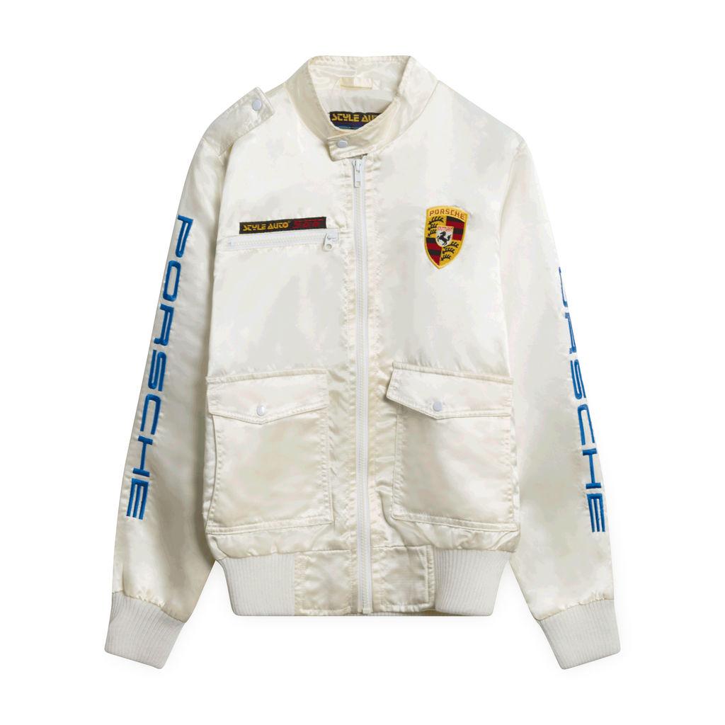 Porsche Style Auto Satin Jacket