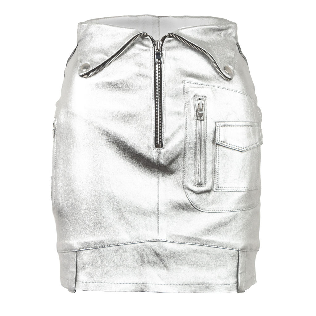 RtA Gisele Skirt in Silver