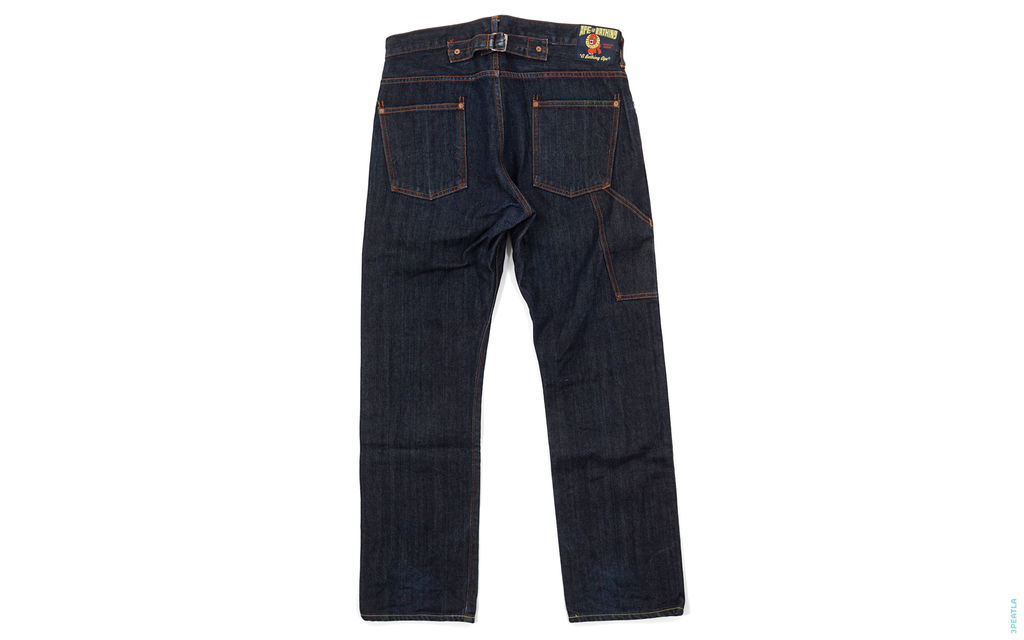 Raging Ape Raw Painter Denim indigo