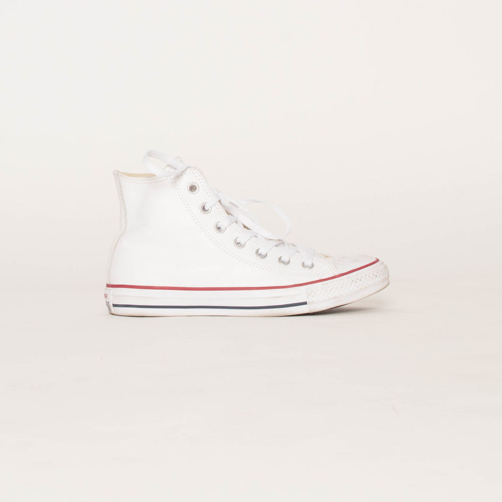 Converse Leather Chuck Taylor High Tops