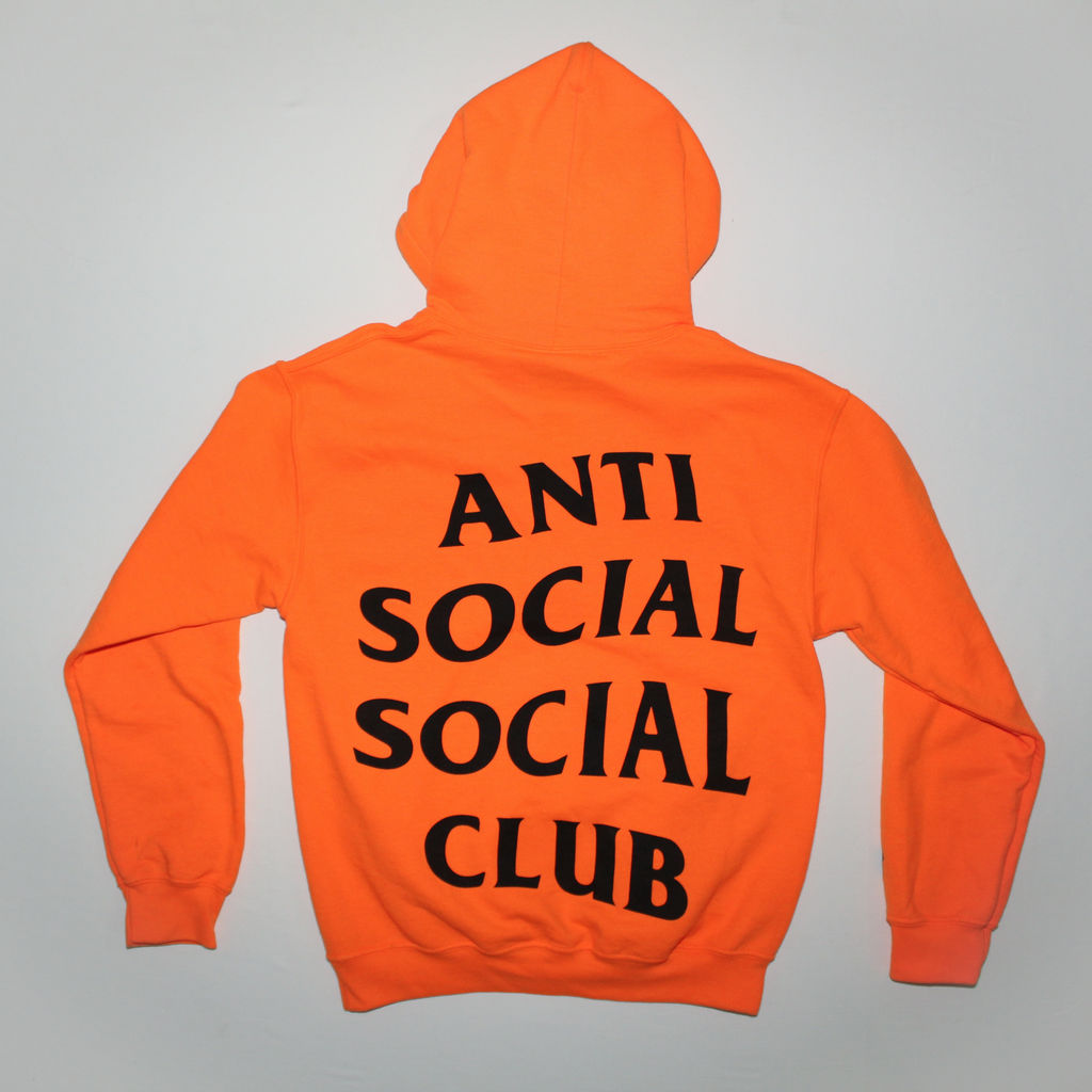 Anti Social Social Club X Undefeated Paranoid Hoodie