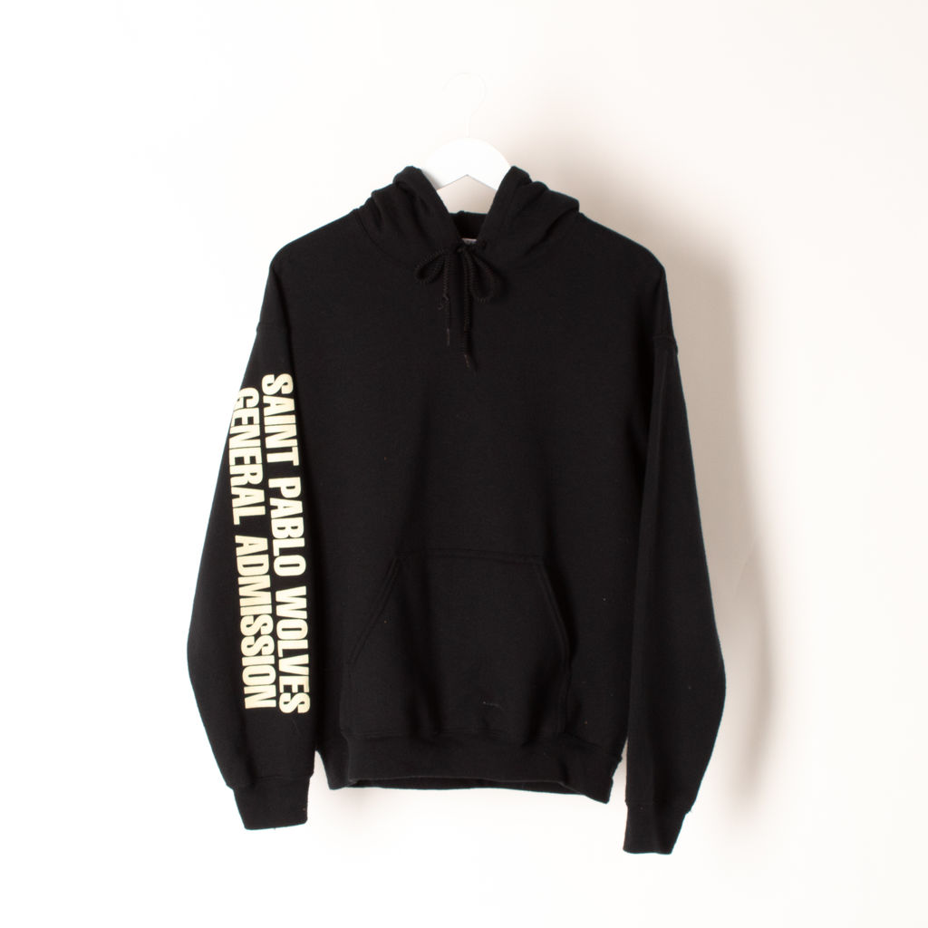 Kanye West Saint Pablo Tour Wolves Hoodie