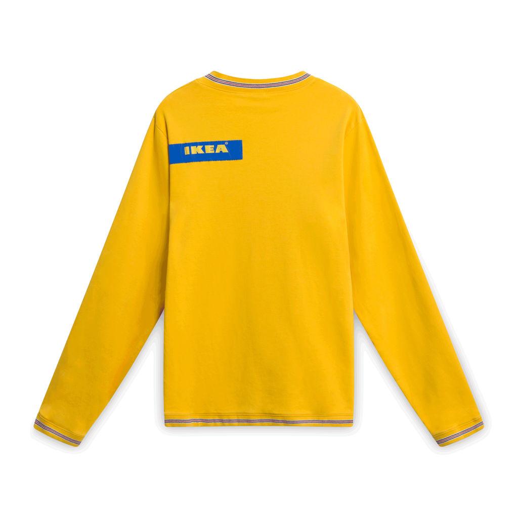 Vintage IKEA Uniform Sweater - Yellow