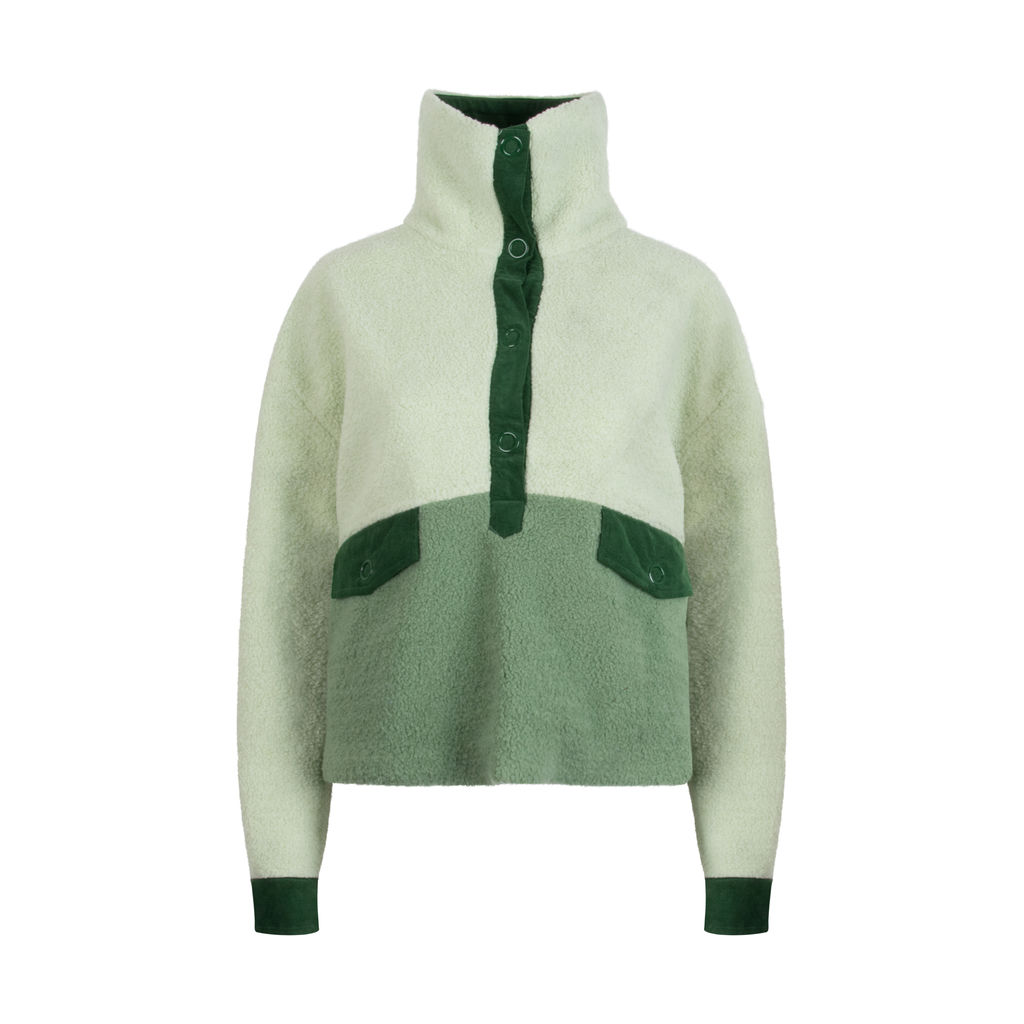 House of Sunny- Pullover Teddy Jacket