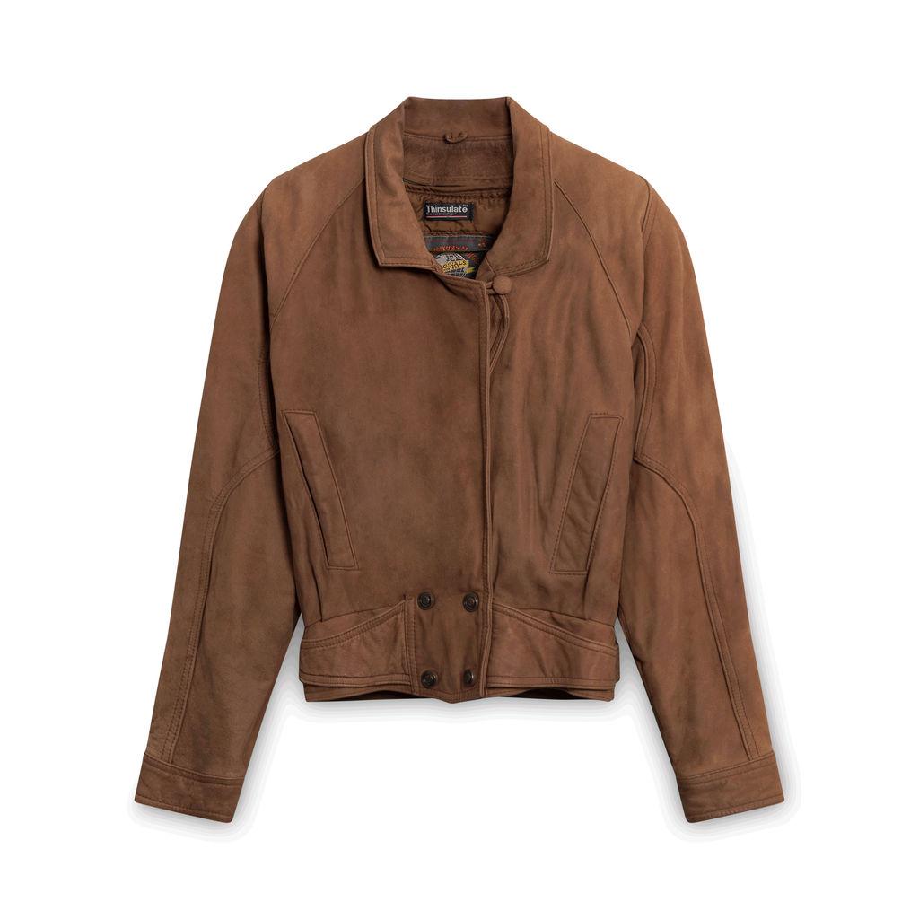 Vintage Adventure Bound Suede Jacket