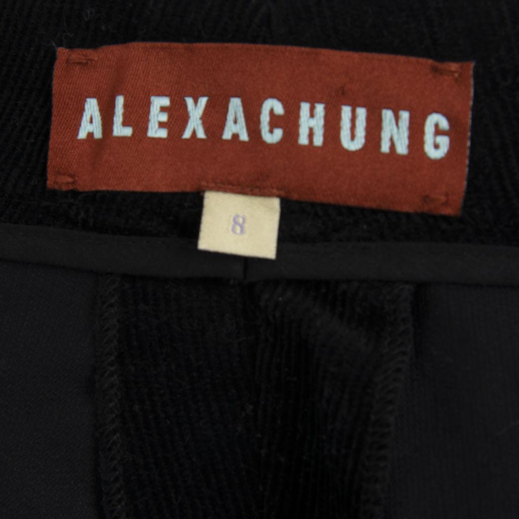 Alexa Chung Wide-Leg Corduroy Trousers