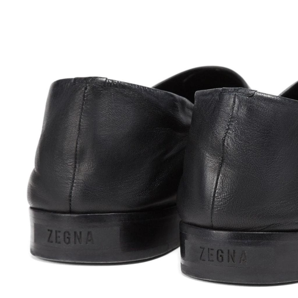 FEAROFGOD x ZEGNA Leather Slip-On