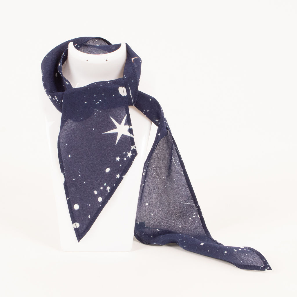 Rixo Alexa Cosmic Constellation Neckscarf