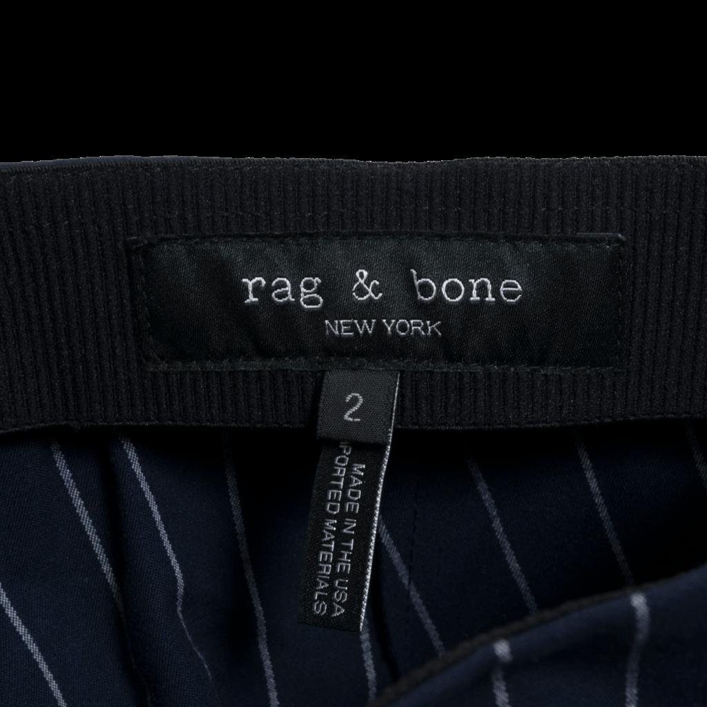 Rag & Bone Simone Pinstripe Trousers