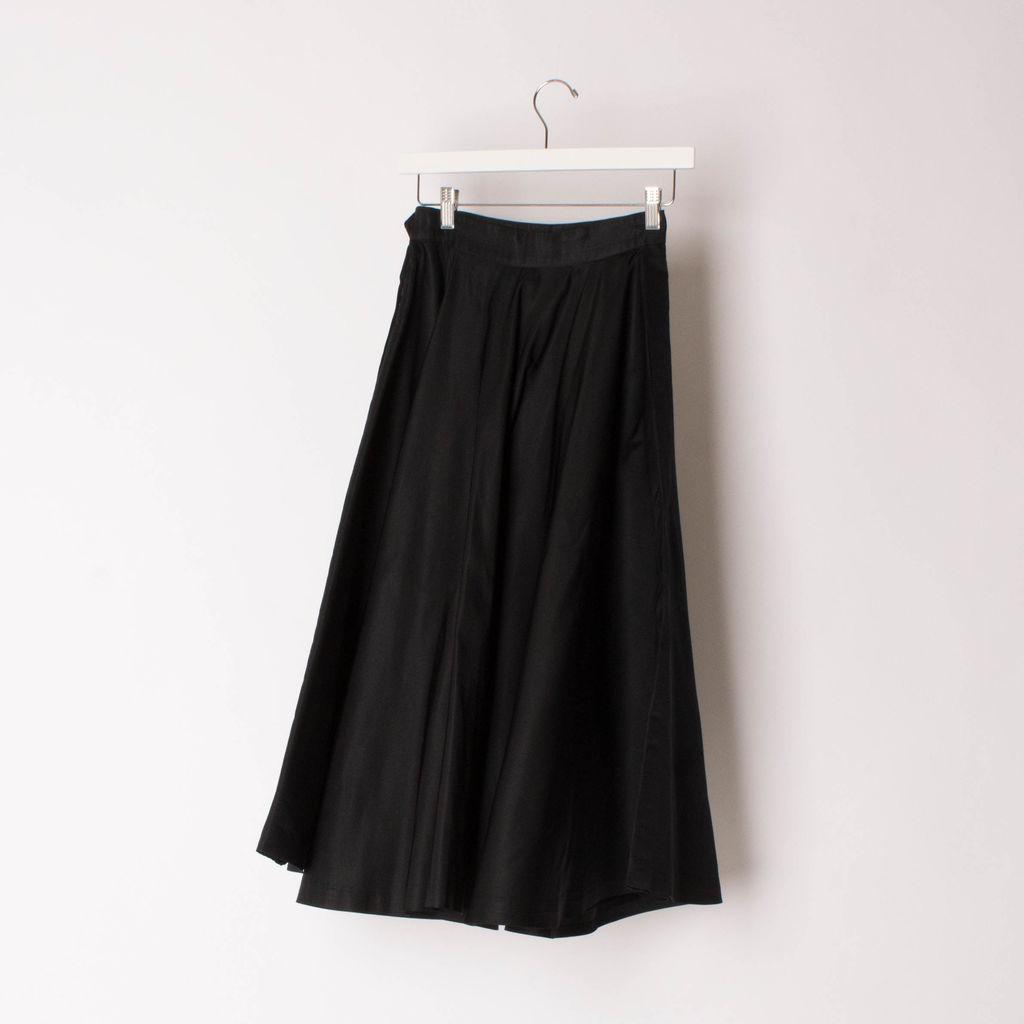 Vintage Morton Bregman 1950s Black Skirt