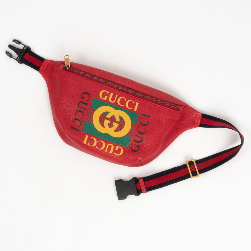 Gucci Red Belt Bag