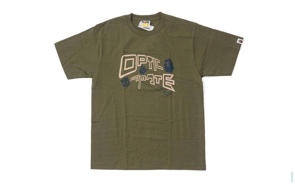 Optic Primate Capsule Tee olive