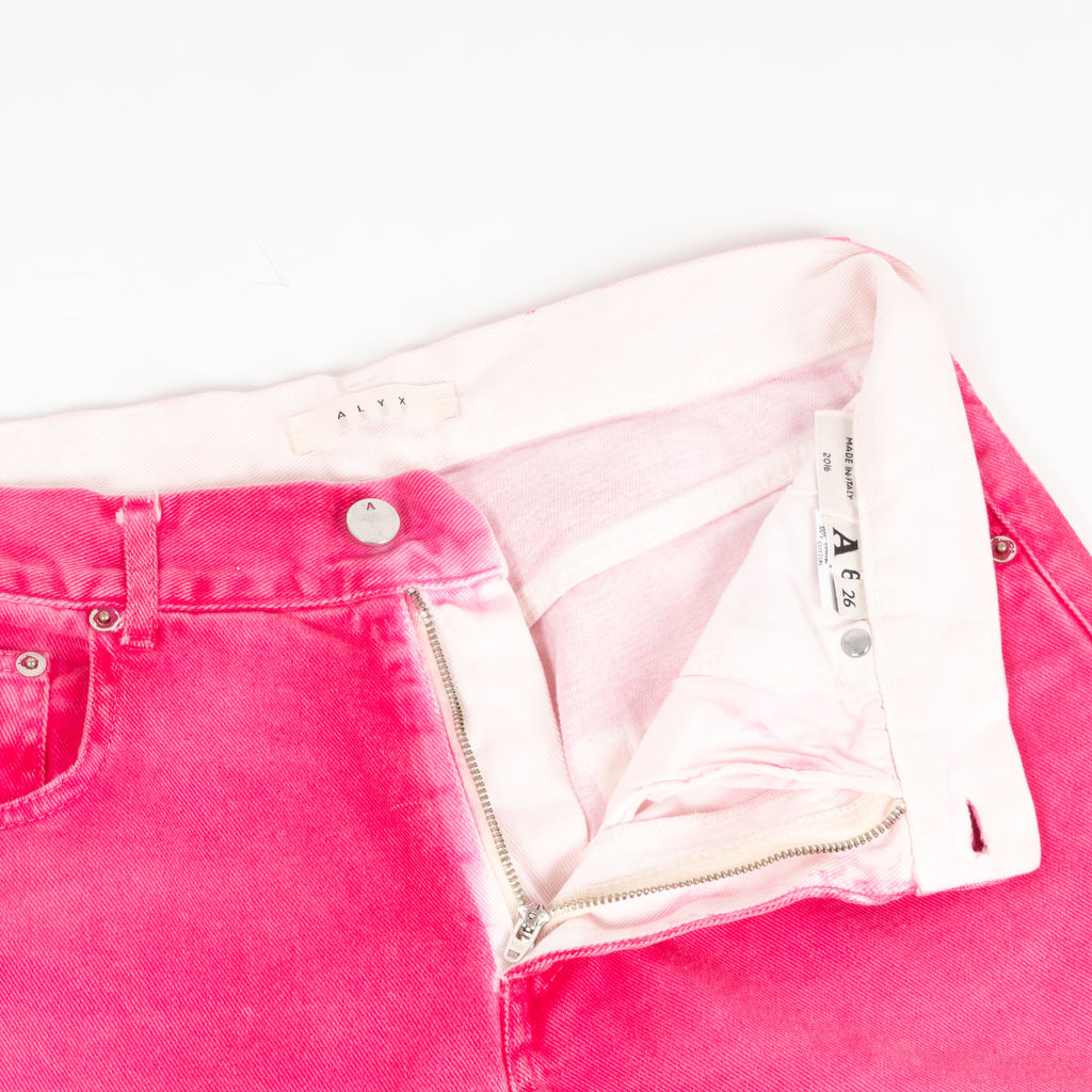 Alyx Distressed High Rise Jeans