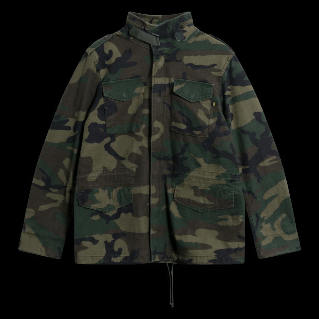 Alpha Industries x André Camo Field Jacket