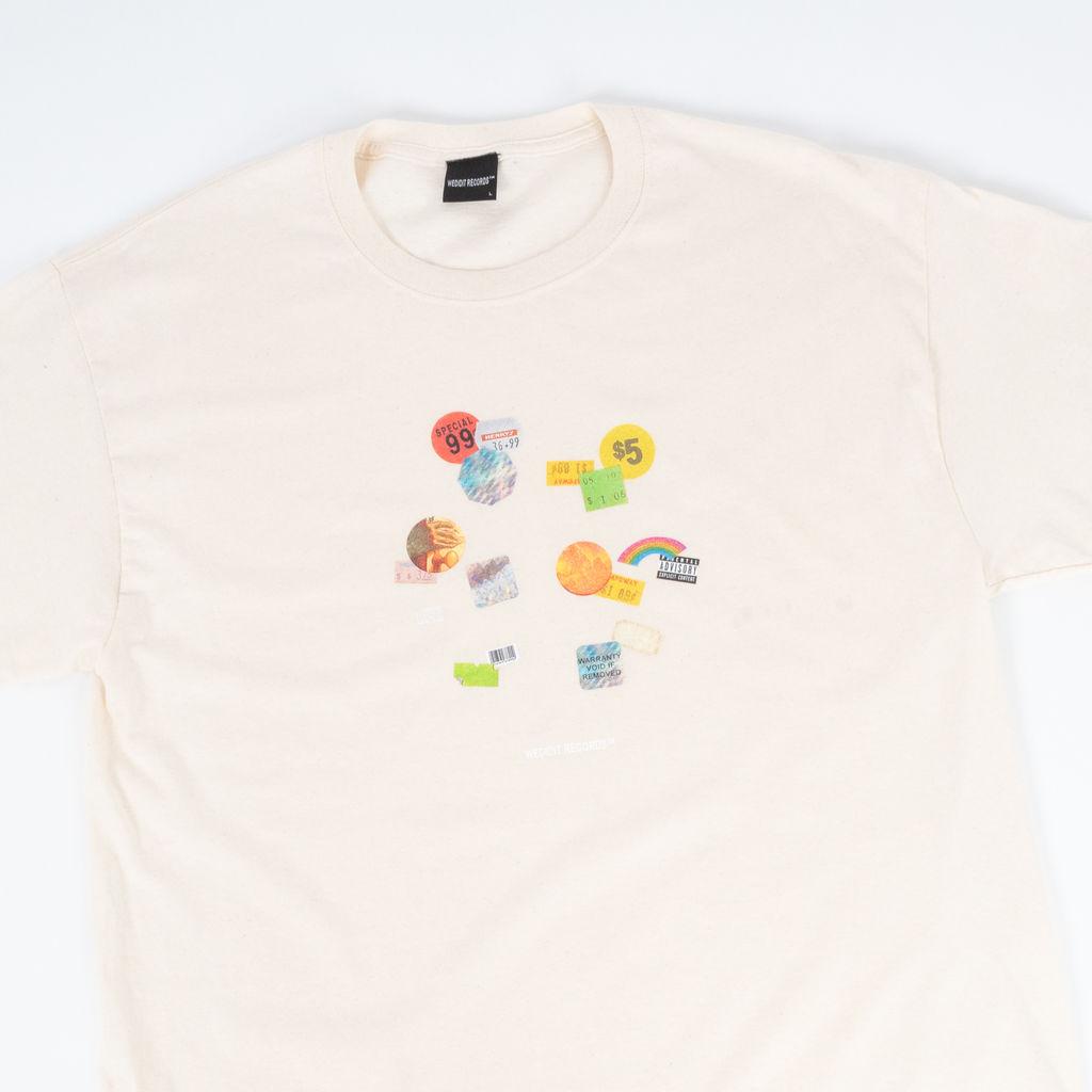 WeDidIt Records Bargain Bin T-Shirt