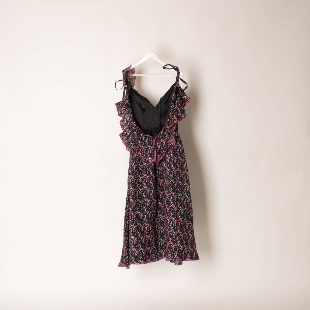 Rosie Assoulin Ditsy Floral Dress