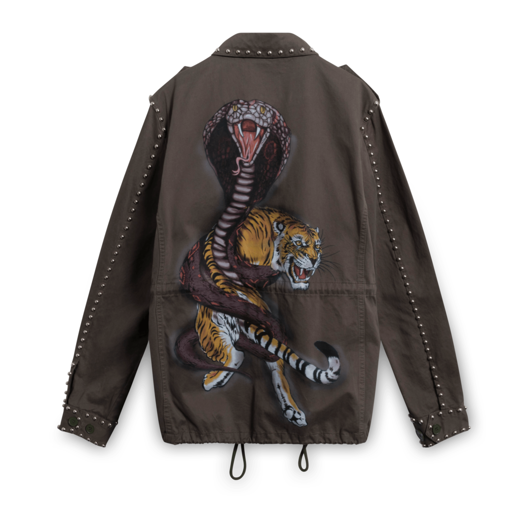 Philipp Plein Military Parka