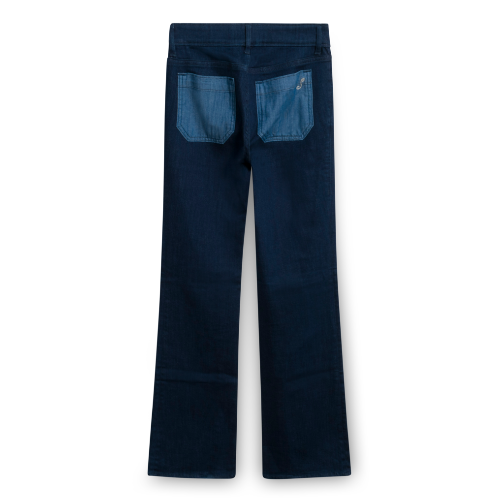 The Seafarer Dark Wash Flare Jeans