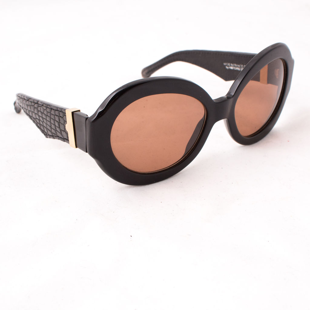 Perrin Paris Leather Trim Sunglasses