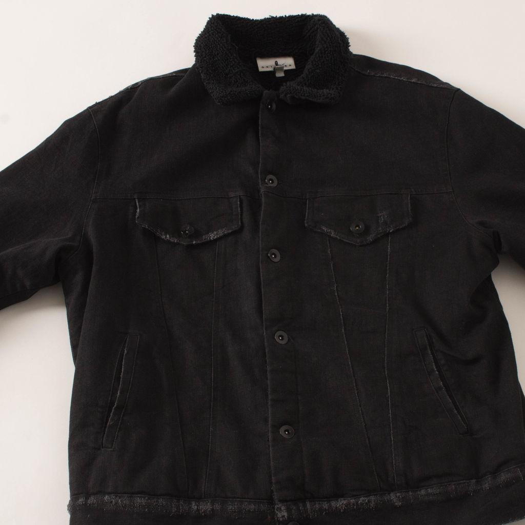 Drifter Shearling Lined Denim Jacket