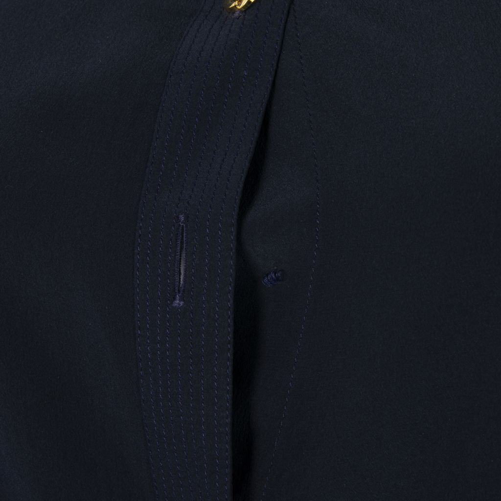 Vintage Blouse Button Down Chanel Top