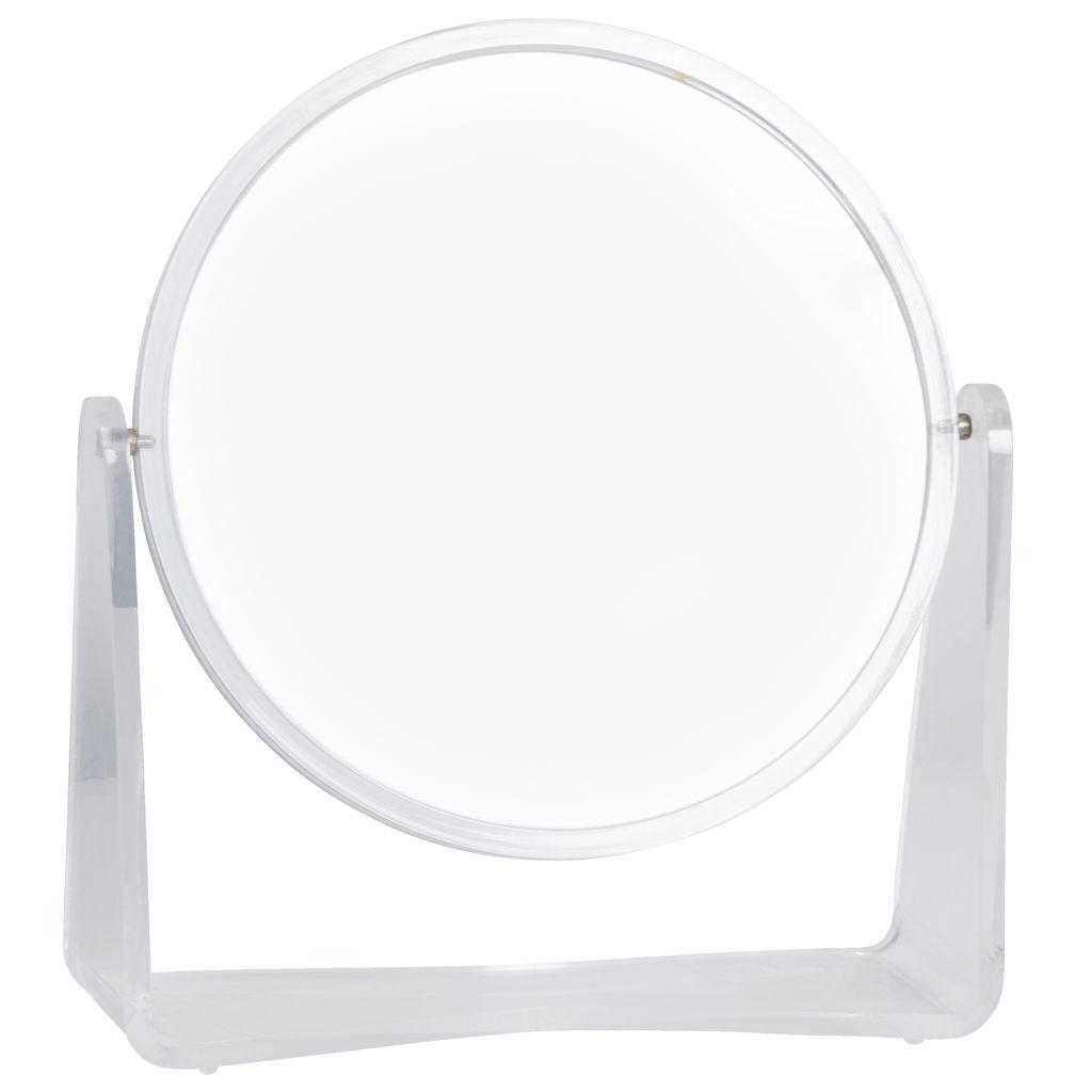 Vintage Clear Vanity Mirror