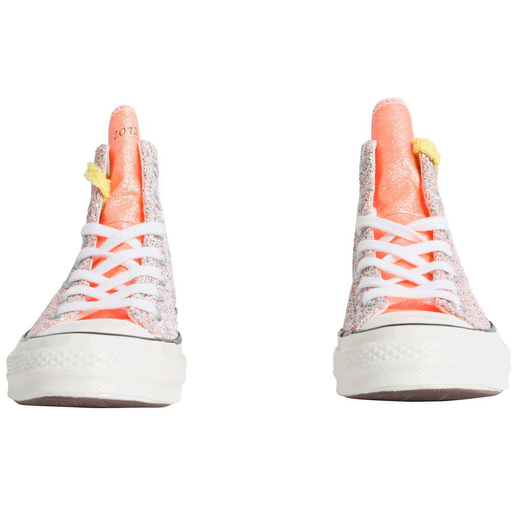 NWT Authentic Converse x JW Anderson Hi Glitter Converse