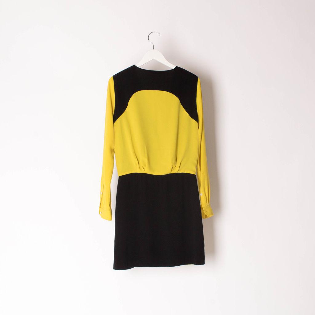 Diane Von Furstenberg Yellow & Black Dress