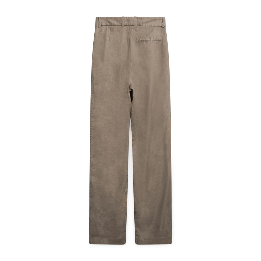 Babaton High-Rise Suiting Trousers - Taupe