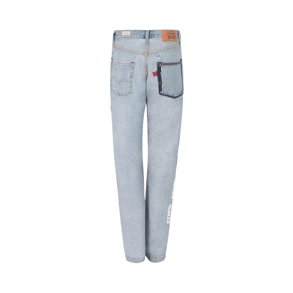 Limited Edition Levi's x Heron Preston 501 Jeans