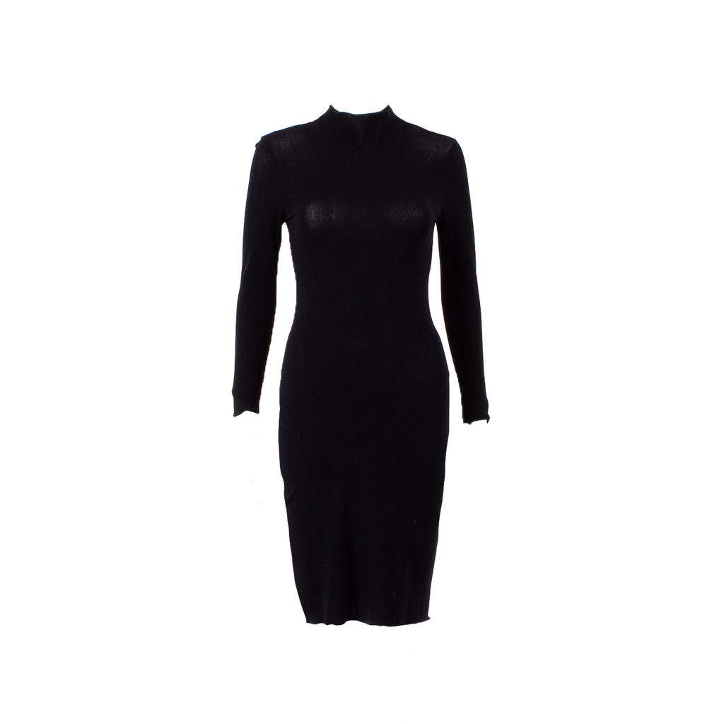 Karl Lagerfeld Collection Long Sleeve Midi Dress