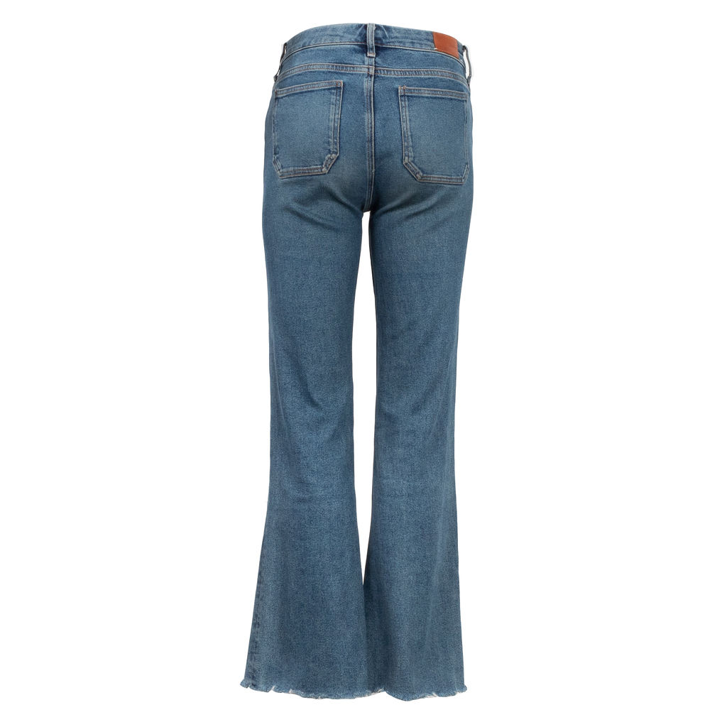 M.i.h High Rise Cropped Lou Jeans