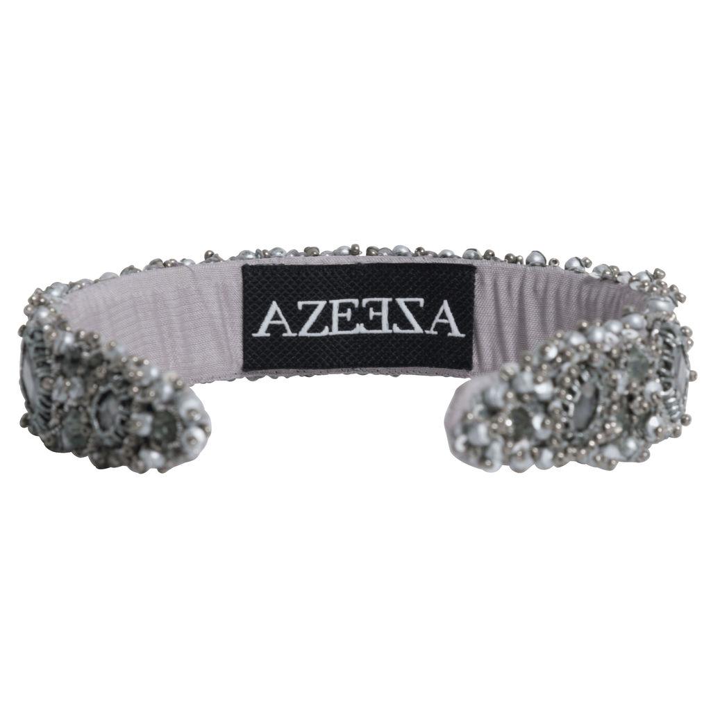 Azeeza Blair Gunmetal Embellished Headband