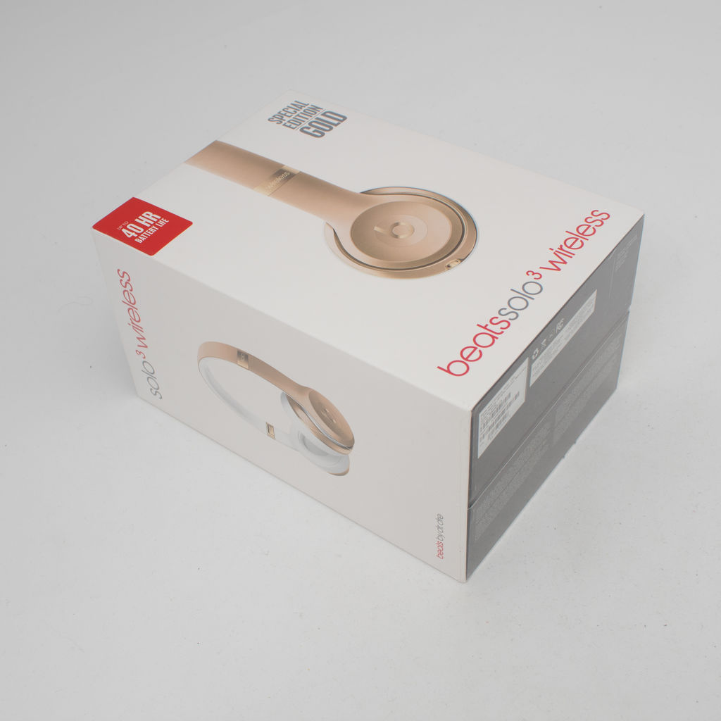 Beats Solo3 Wireless Special Edition Gold curated by Sami Miro