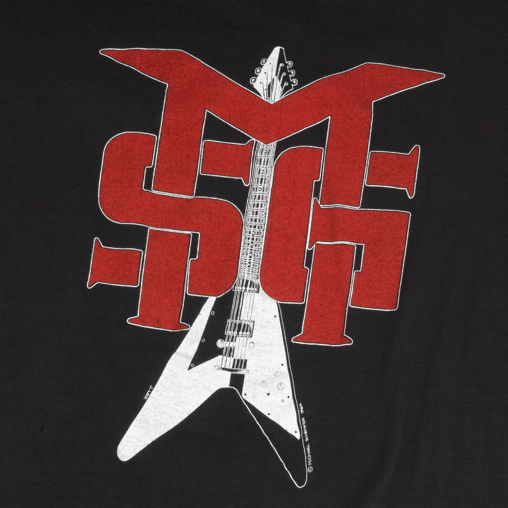 Vintage 1980s Michael Schenker Group T-shirt