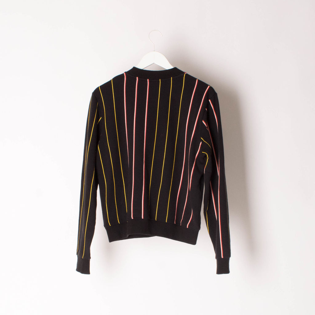 P.E Nation Striped Crewneck Sweater