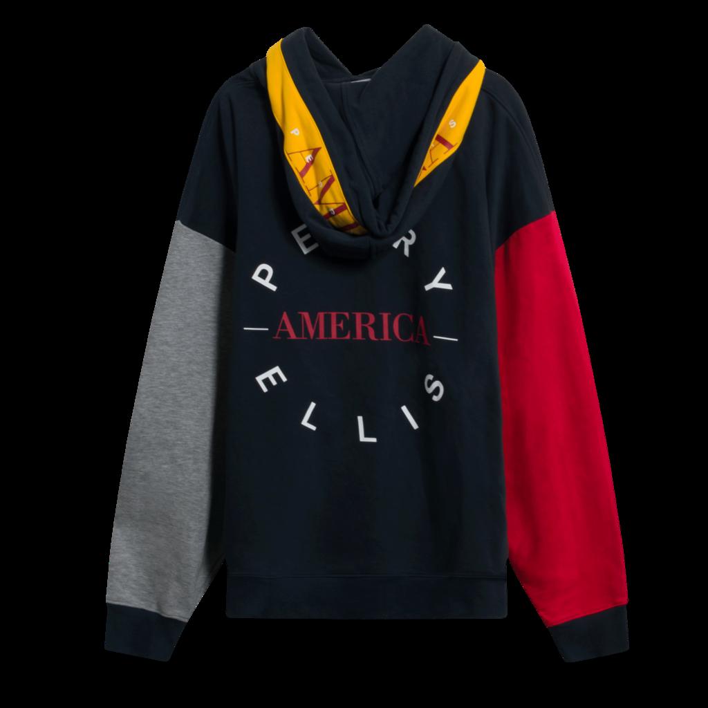 Perry Ellis America Colorblock Hoodie