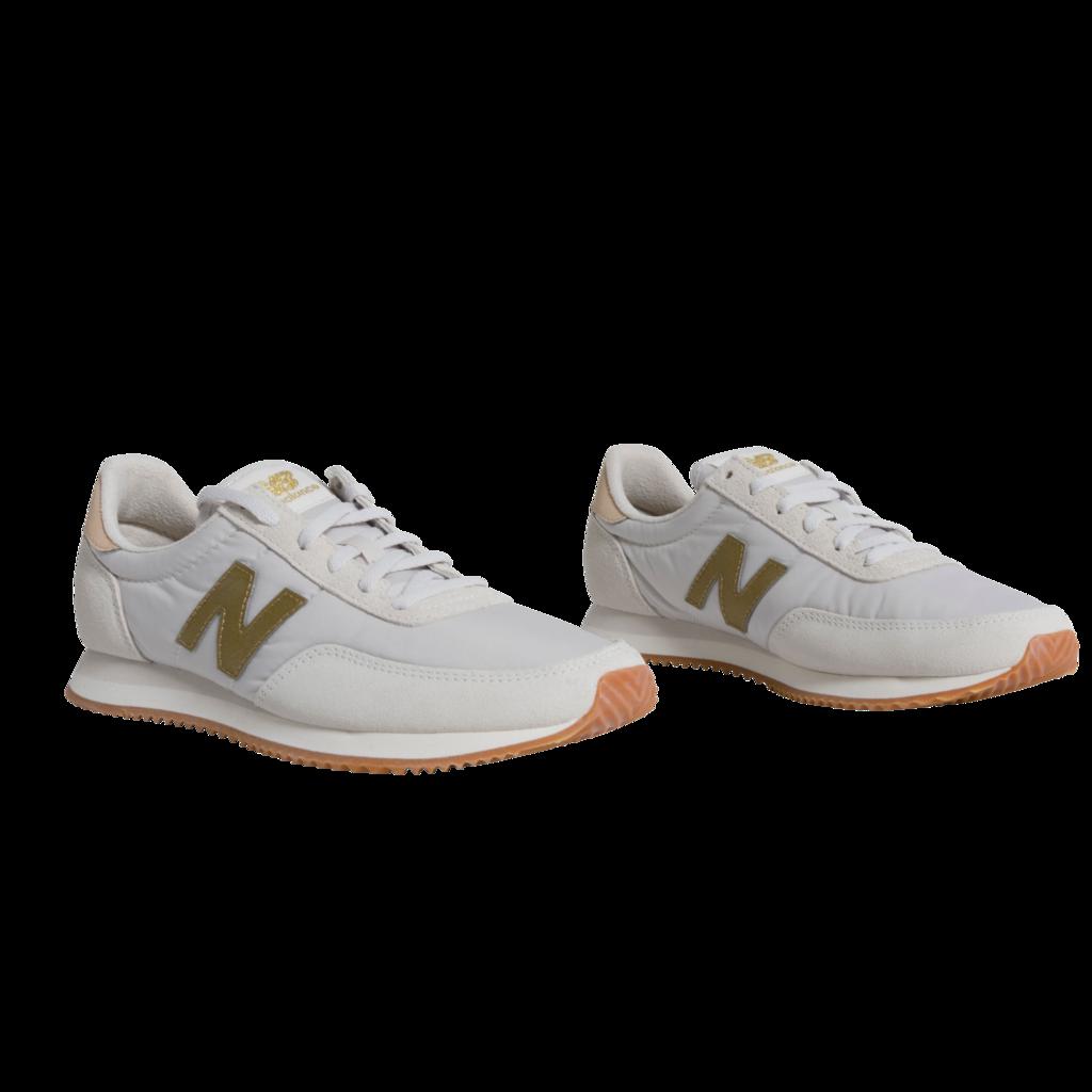New Balance 720 Sneaker - Sea Salt/Classic Gold