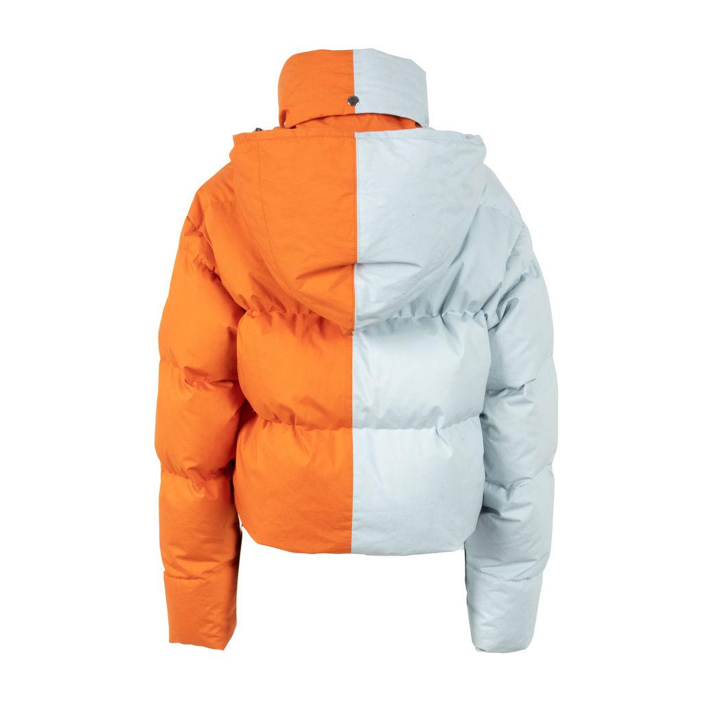Fiorucci 50/50 Cropped Puffer Jacket