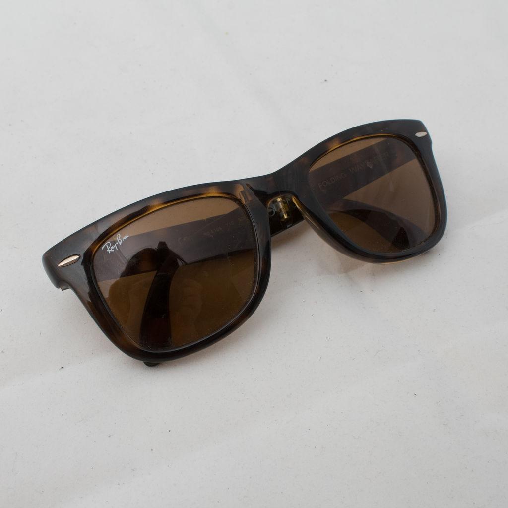 Ray Ban Wayfarer Folding Sunglasses curated by Matthew Hwang